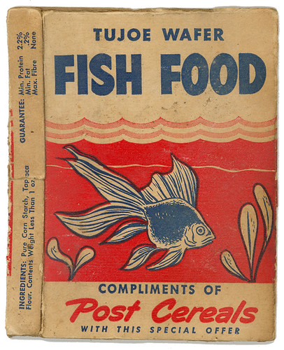 Post Cereals Tujoe Wafer Fish Food Box
