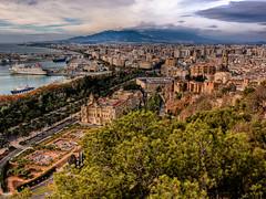 Málaga desde Gibralfaro (HDR)