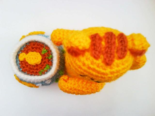 Free Amigurumi Halloween Crochet Patterns : Kitty Cat with Goldfish Tank Amigurumi Crochet Pattern ...