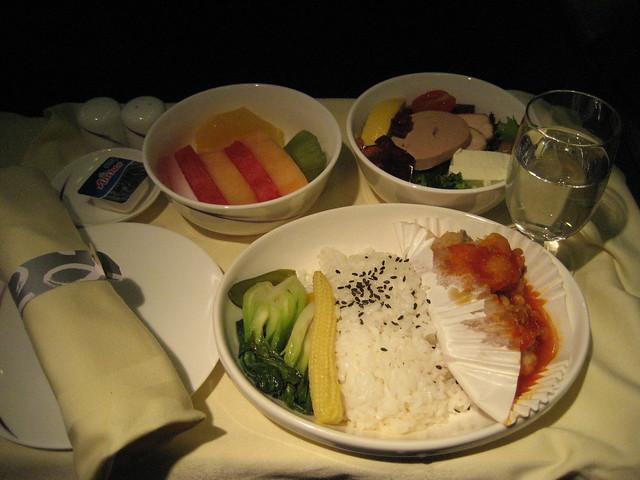 华夏航空飞机餐