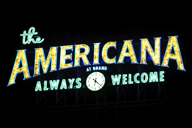 Header of Americana at Brand