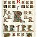 012-Letra R-Owen Jones Alphabet 1864- Copyright © 2010 Panteek.  All Rights Reserved