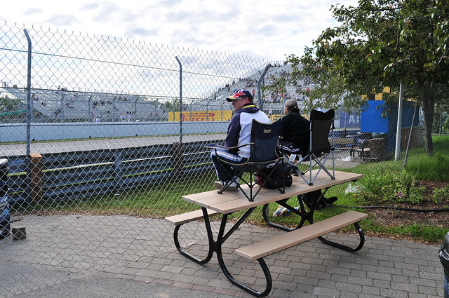 Quintessential General Admission Viewing Canadian Grand Prix
