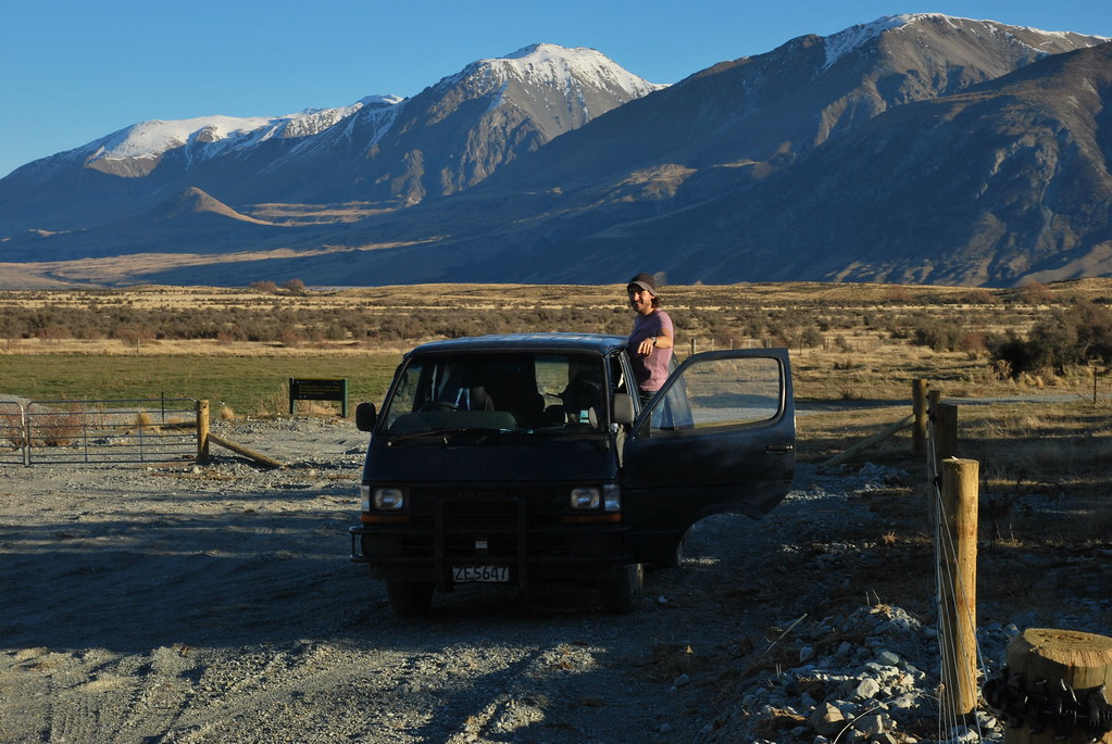 Mt Potts - Rohan Edoras LOTR - South Island - New Zealand 101