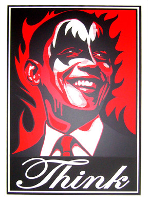 obama think by mattdye.com