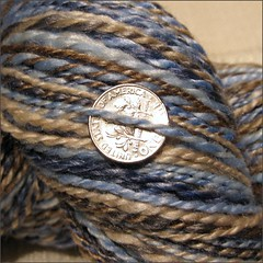 Shipwreck yarn, close up