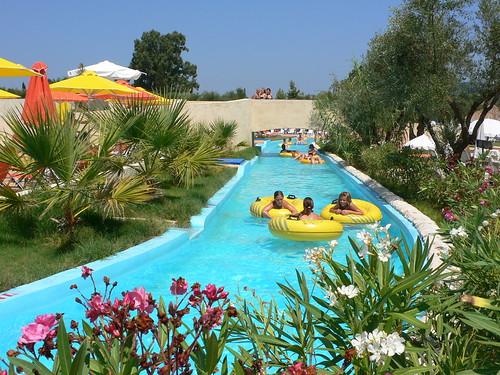Waterpark at Sarakinado on Zakynthos (Zante)
