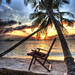 Sunrise on Biyahdoo Island - The Maldives