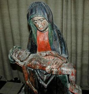 Virgen y cristo