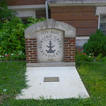 Bowling Green City Hall Sign & Time Capsule