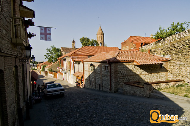 Gruzińskie miasteczko