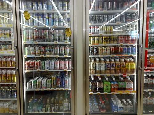 konbini drink corner コンビニドリンクコーナー