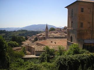 Vista su Urbino