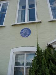 Photo of Ninette de Valois blue plaque