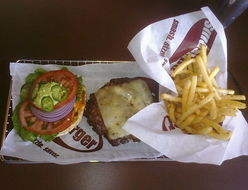 Arizona Burger at Smashburger Tempe ASU campus