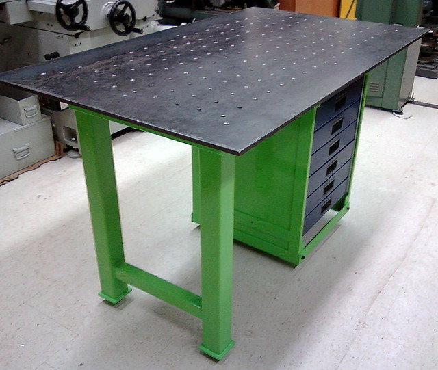 Lalo share welding table plans or ideas for Plan fabrication table