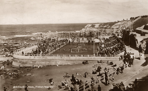 Tynemouth Outdoor pool, 1939