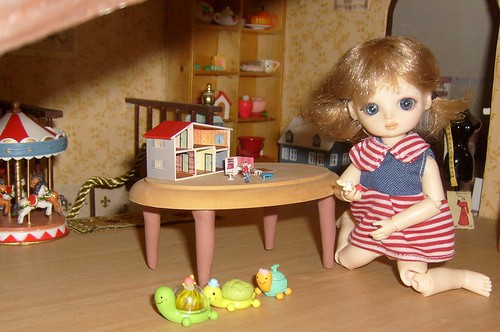 miniature lundby dollhouse