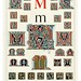 007-Letra M-Owen Jones Alphabet 1864- Copyright © 2010 Panteek.  All Rights Reserved