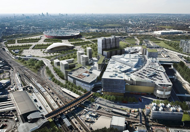 westfield stratford city aerial view flickr photo sharing. Black Bedroom Furniture Sets. Home Design Ideas