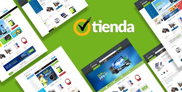 Tienda v1.0 - Responsive Technology Magento Theme