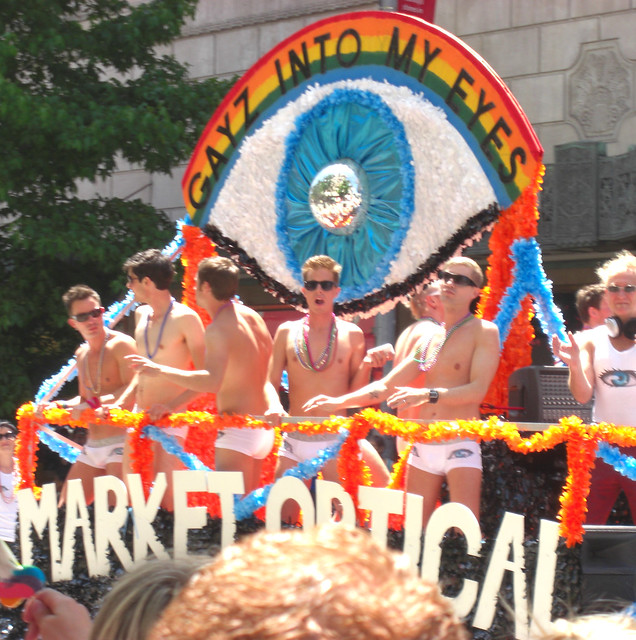 2009 Seattle Gay Pride Parade-Market t