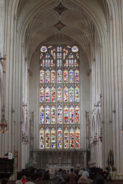 Bath Abbey Glass