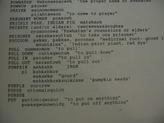 Galleries   Powhatan language vocabulary - pumpkin - mahkahk or ...