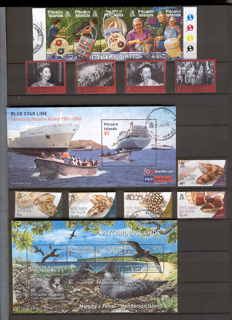 My Pitcairn Island Stamp Collection Page 2