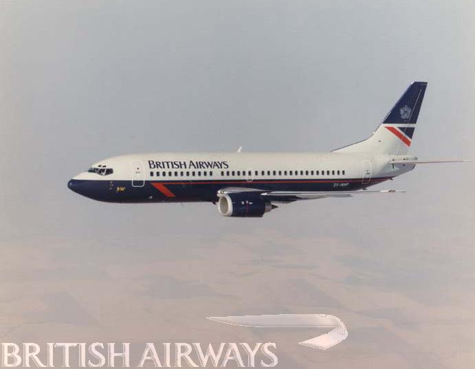 1980s - British Airways Boeing 737-3L9 OY-MMP
