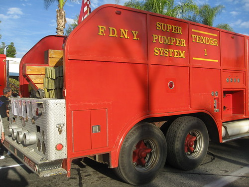 FDNY Mack Super Pumper Tender - 1965