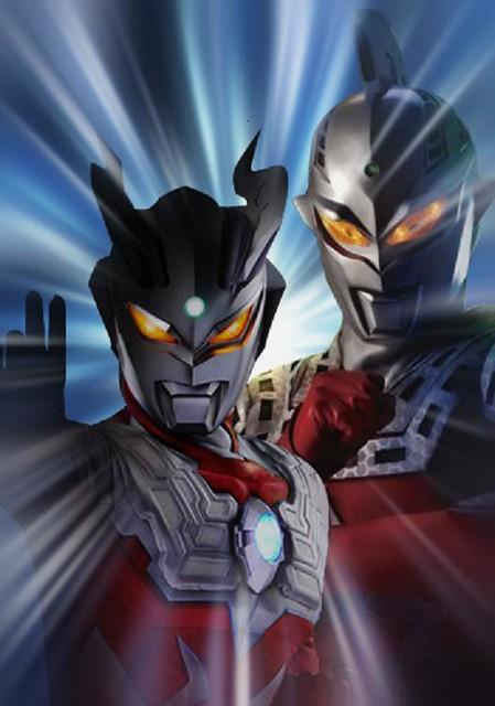 Ultraman Zero & UltraSeven   Ultraman Zero & UltraSeven ...