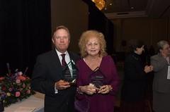 Neighborhood Legal Service Executive Director Robert V. Racunas and Sylvia Basich