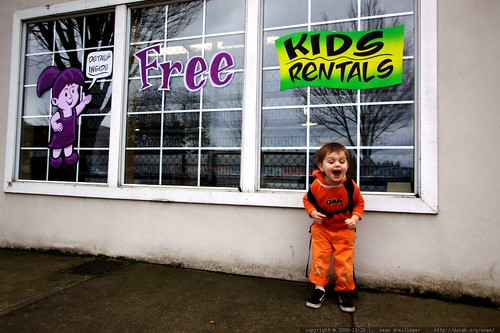 which is it? kids for free? or kids for rent?    MG 9446