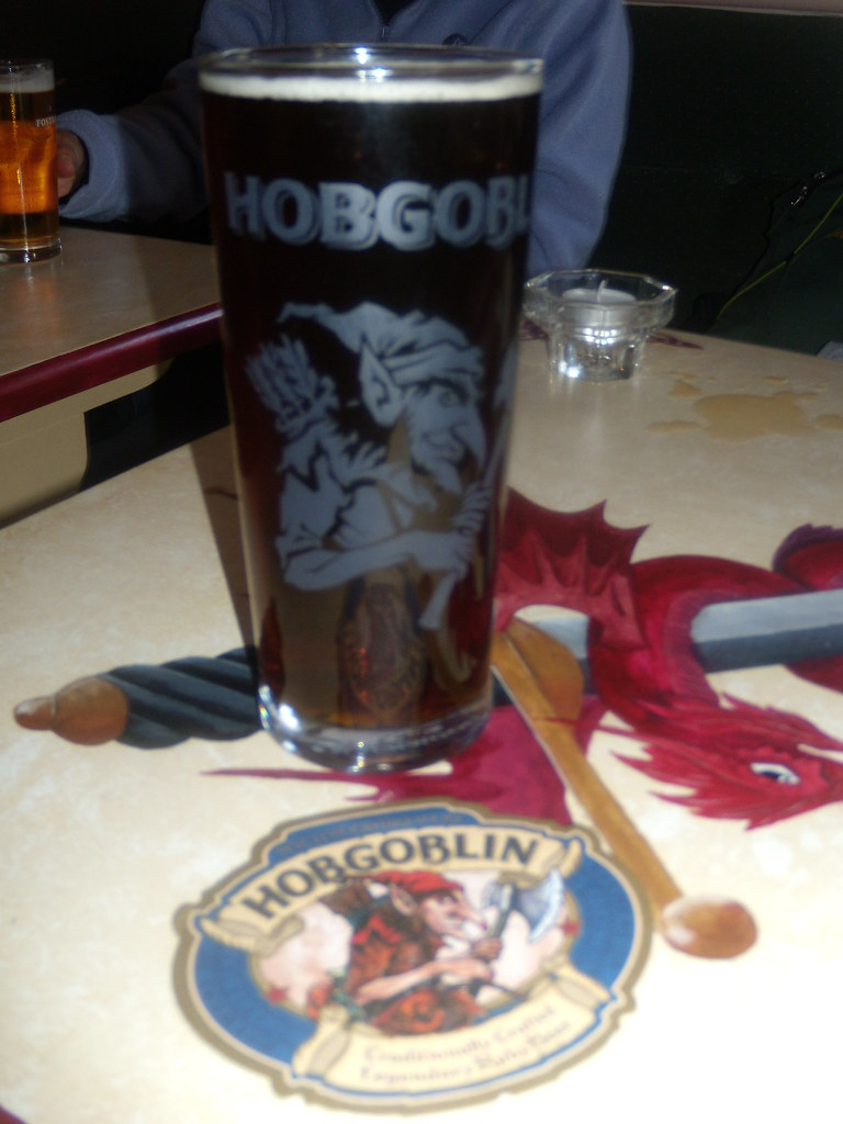 What its all about Draught Hobgoblin. Watership Down Inn, Freefolk. Overton to Whitchurch