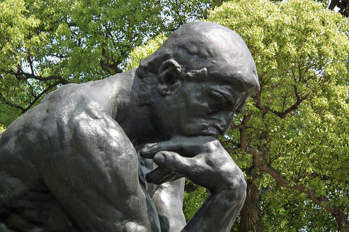 Auguste Rodin: Le Penseur (The Thinker) at the Museum of Modern Western Art in Tokyo (2011)