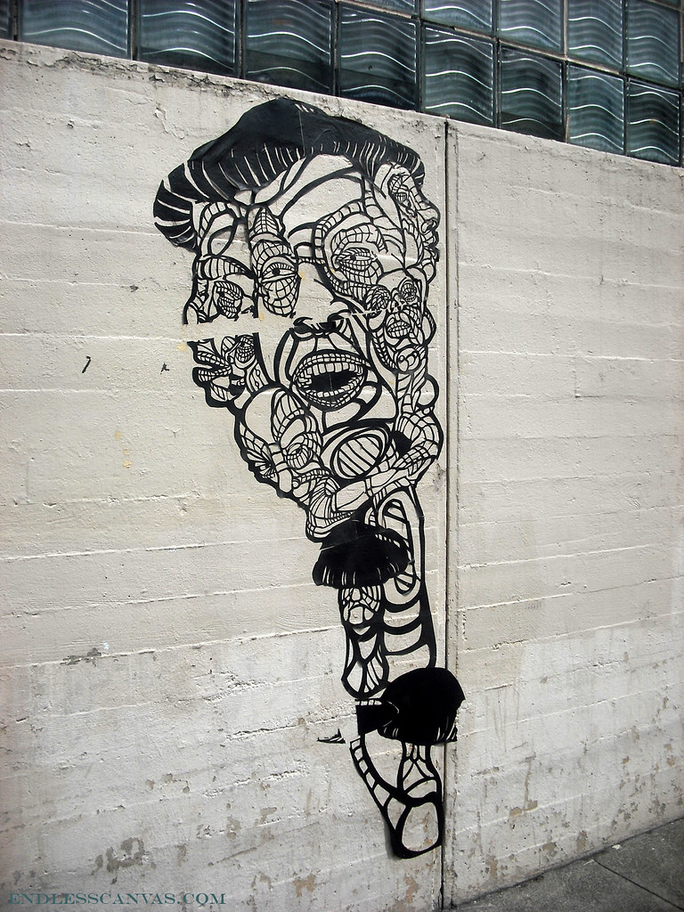 Paste Up « Endless Canvas – Bay Area Graffiti and Street Art