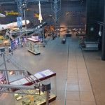 Steven F. Udvar-Hazy Center: Space exhibit panorama (misc)