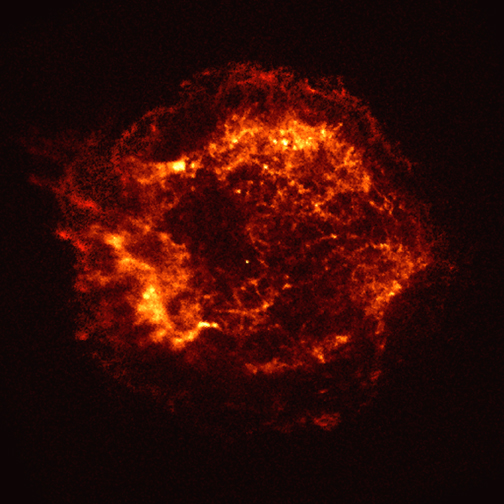 Cassiopeia A: First Light (NASA, Chandra, 08/26/99)