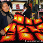 Beautifully Crocheted Blanket - Huancavelica, Peru