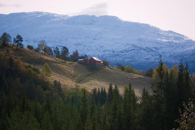 Mountain farm in Hardanger