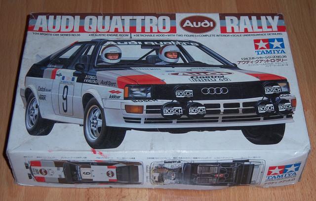 Tamiya 1 24 Audi Quattro Rally Flickr Photo Sharing