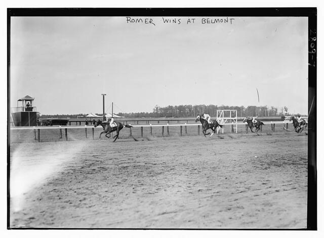 """Roamer"" wins at Belmont  (LOC)"