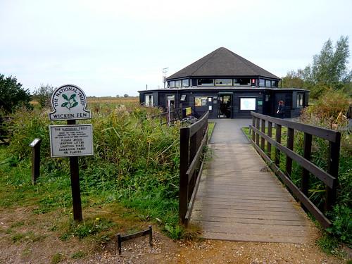 聲明遠播的威肯溼地,有樸素低調的遊客中心。