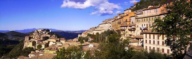 ARPINO-Panorama dal Colle