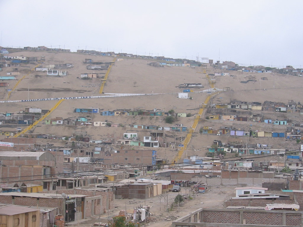 An Area In Lima Districts Of Pachacamac And Villa El