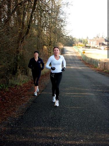running on bergis farm road   PC240027