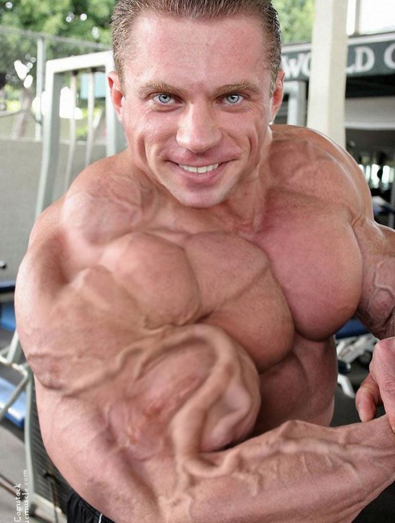 how to get big veiny arms