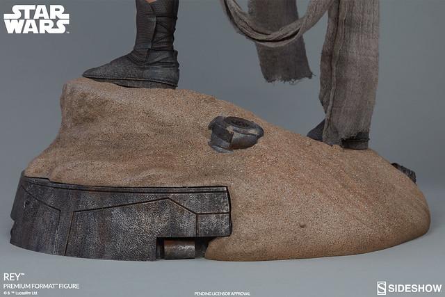 Sideshow Collectibles【芮】STAR WARS:原力覺醒 Rey 1/4 比例全身雕像作品