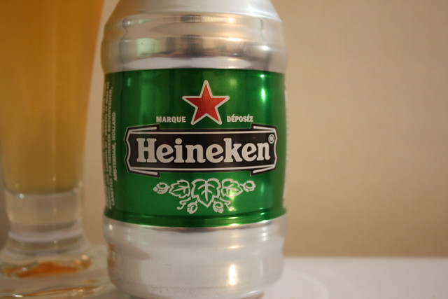 Keg can of Heineken beer   Flickr - Photo Sharing!